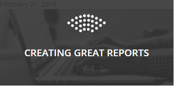 Symphony Creating Great Reports